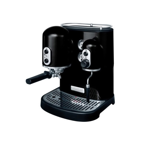 kitchenaid artisan espresso machine onyx black buy