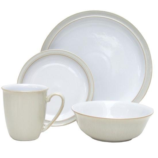 click to enlarge ?  sc 1 st  Shop Cookware & Denby Linen 16pce Box Set: Buy Denby Linen 16pce Box Set online ...