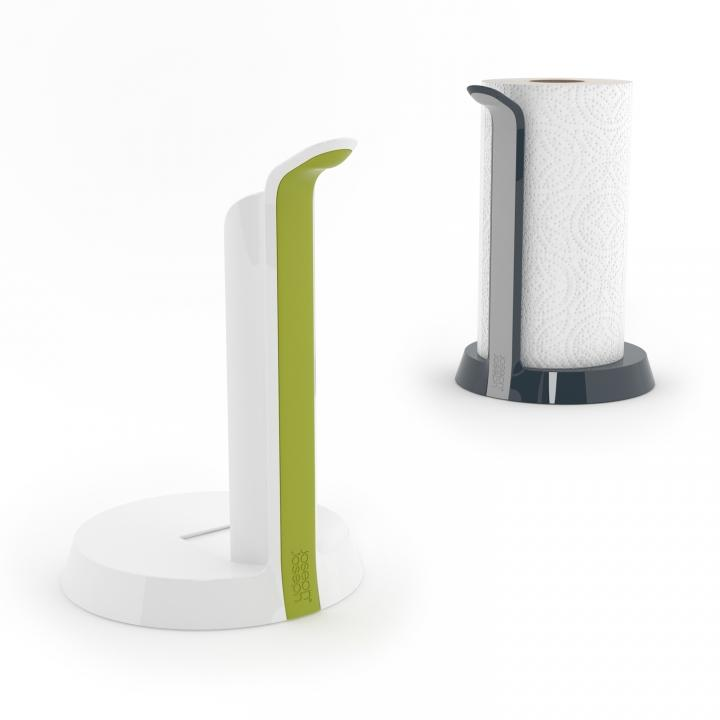 Tear kitchen roll holder whitegreen 2 joseph joseph easy tear kitchen