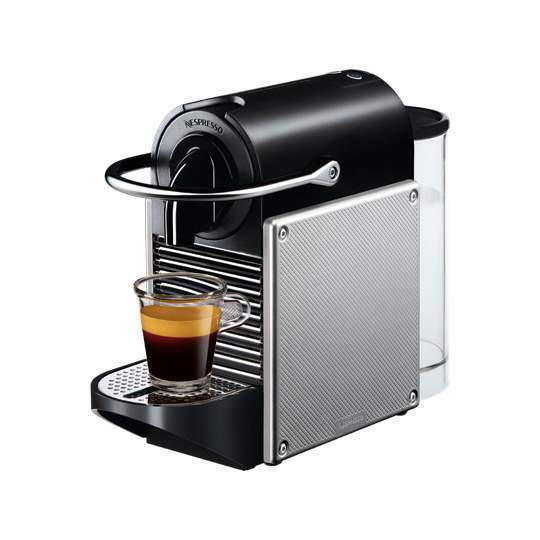 magimix pixie nespresso coffee maker electric alminium. Black Bedroom Furniture Sets. Home Design Ideas