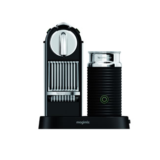 Magimix Citiz Nespresso Coffee Maker - Limousine Black Citiz & Frother
