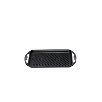 Le Creuset 32.5CM Rectangular Grill - 32.5cm Cassis