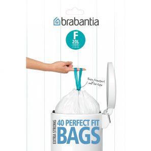 20 Brabantia Bin Liners Size F