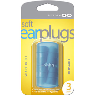 Go Travel Ear plugs container