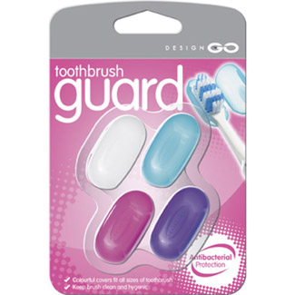 Go Travel Tooth Brush Shields