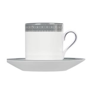 Vera Wang Lace Platinum Coffee Saucer