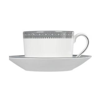 Vera Wang Lace Platinum Tea Saucer