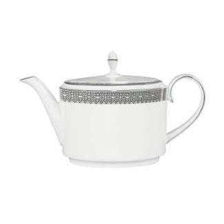 Vera Wang Lace Platinum Teapot