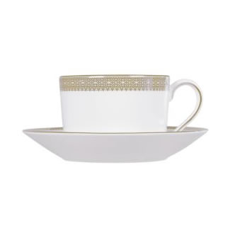 Vera Wang Lace Gold Tea Saucer
