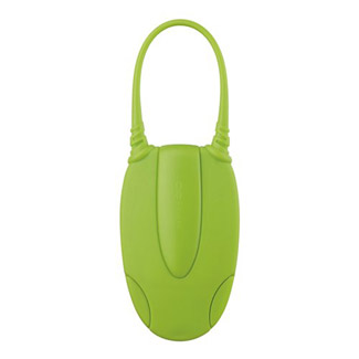 Go Travel Glo Luggage ID - Green