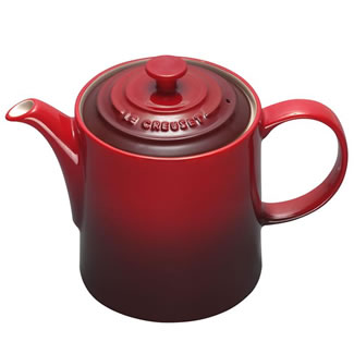 New Le Creuset Grand Teapot - Cerise