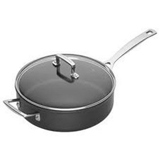 Le Creuset Toughened Non-Stick 26cm Saute Pan & Glass Lid