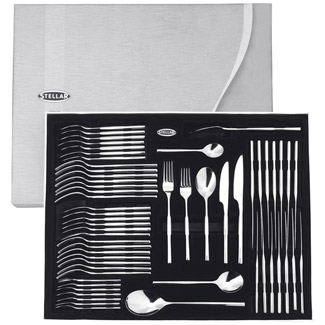 Stellar Rochester 58 PCE Polished Cutlery Gift Set