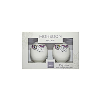 Denby Monsoon Cosmic Salt and Pepper Pot Set