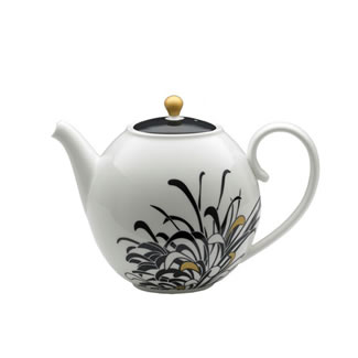 Denby Monsoon Chrysanthemum Teapot