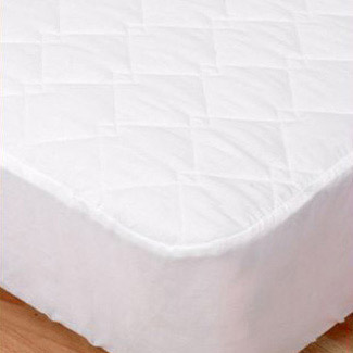 Elainer 100% Cotton Quilted Mattress Protector - SuperKing 183 x 203 x 33cm
