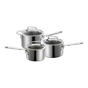Anolon Authority 3 Piece Saucepan Set