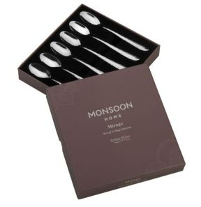 Arthur Price Monsoon Mirage Set of 6 Mug Spoons