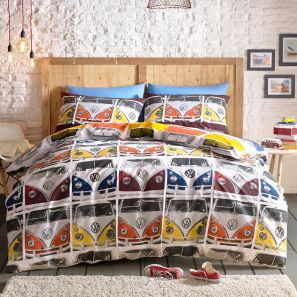 Ashley Wilde Volkswagen VDUB Duvet Cover Set King