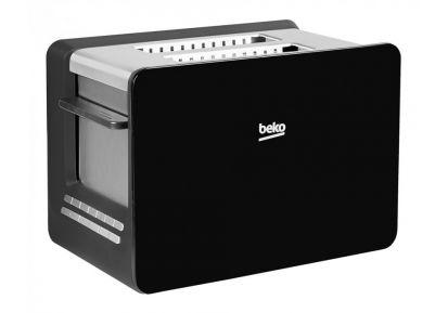 Beko Sense 2-Slice Toaster - Black