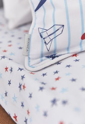 Bianca Cotton Soft Star Fitted Sheet Double Main