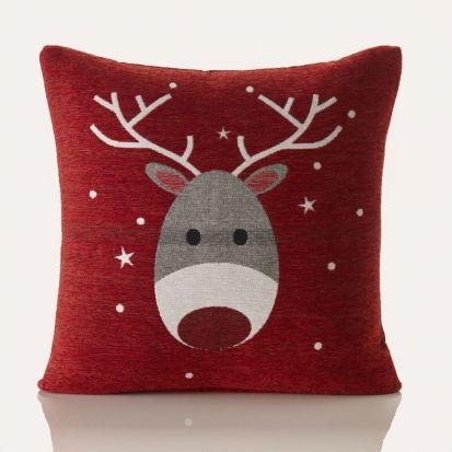 Blitzen Christmas Cushion Cover