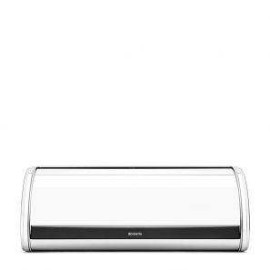 Brabantia Roll Top Bread Bin - Brilliant Steel