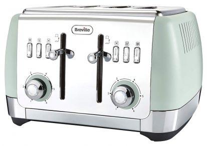 Breville Strata 4 Slice Toaster - Matt Green