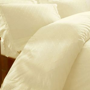Broderie Balmoral Cream Duvet Cover Set Single