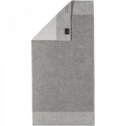 Cawo Two-Tone Platinum Bath Towel