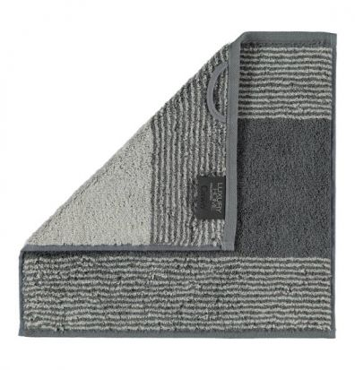 Cawo Two-Tone Slate Face Cloth