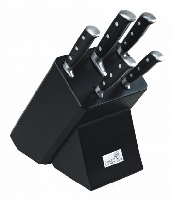 Chefs Companion 6 Piece Knife Block Set