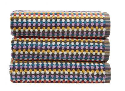 Christy Carnaby Stripe Hand Towel - Multi