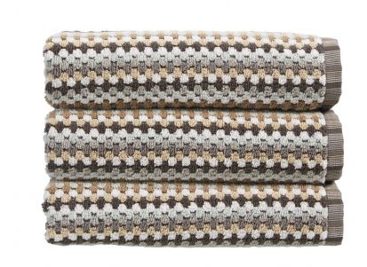 Christy Carnaby Stripe Hand Towel - Neutral