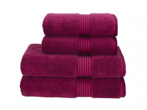 Christy Supreme Hygro Bath Mat - Raspberry
