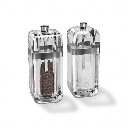 Cole & Mason Kempton Salt & Pepper Set with Refills