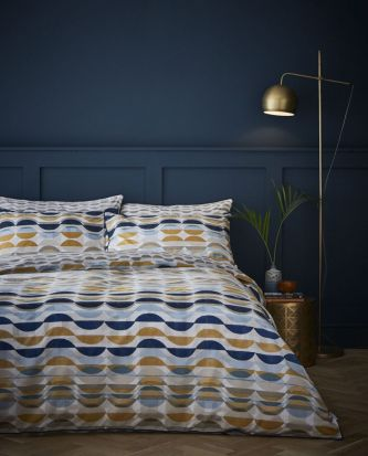 Content by Conran Eclipse Ochre Duvet Cover Set - King