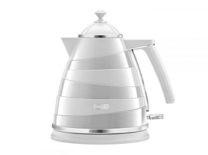 Delonghi Avvolta Electric Kettle White