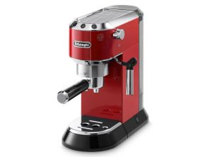 Delonghi Dedica Red Pump Coffee Machine EC680.R