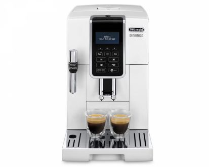 Delonghi Dinamica ECAM350.35 White Coffee Machine