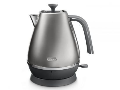 Delonghi Distinta Flair 1.7L Kettle - Silver