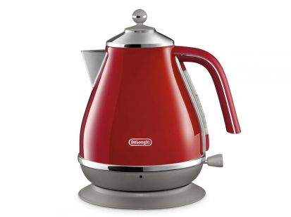 Delonghi Icona Capitals 1.7L Kettle - Red