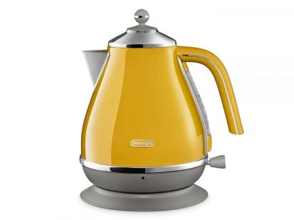 Delonghi Icona Capitals 1.7L Kettle - Yellow