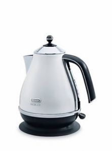 Delonghi Icona Micalite 1.7L Kettle - White