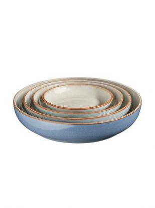 Denby Always Entertaining Blues 4 Piece Nesting Set