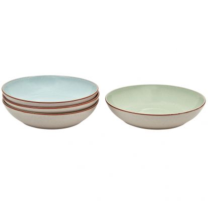 Denby Always Entertaining Deli 4 Piece Pasta Bowl Set