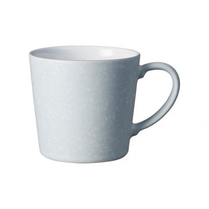 Denby Grey Speckled Large Handcrafted Mug