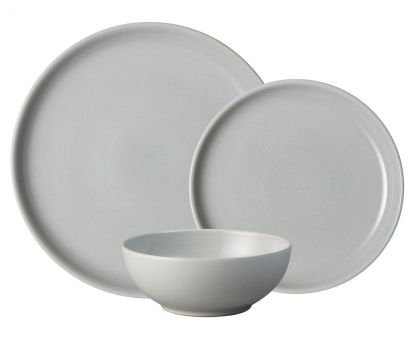 Denby Intro Soft Grey 12 Piece Box Set