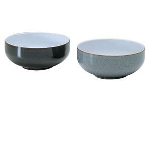 Denby Jet Black Soup / Cereal Bowl