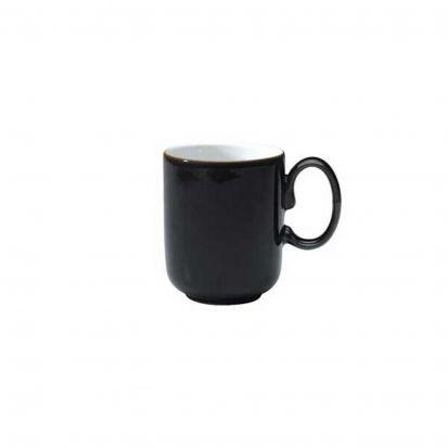 Denby Jet Black Straight Mug